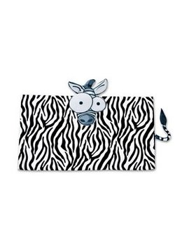 Sensory Clothing Weighted Zebra Animal Lap Pad, 5 LBS