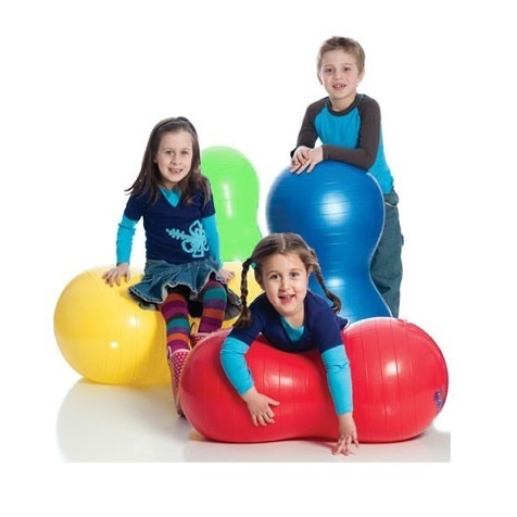 """Therapy Equipment Large 18"""" Red Peanut Ball"""