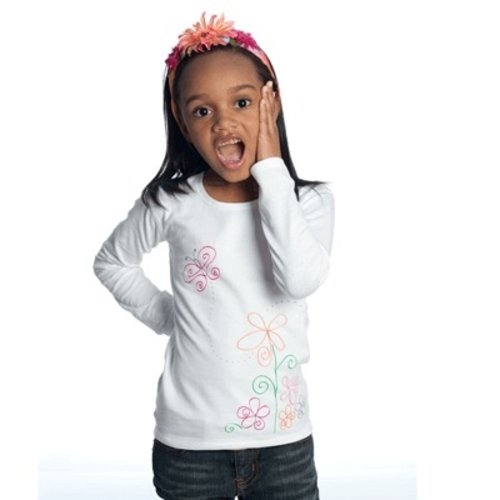 Sensory Clothing Sens-ational Hip Hugging Tee - Long Sleeved