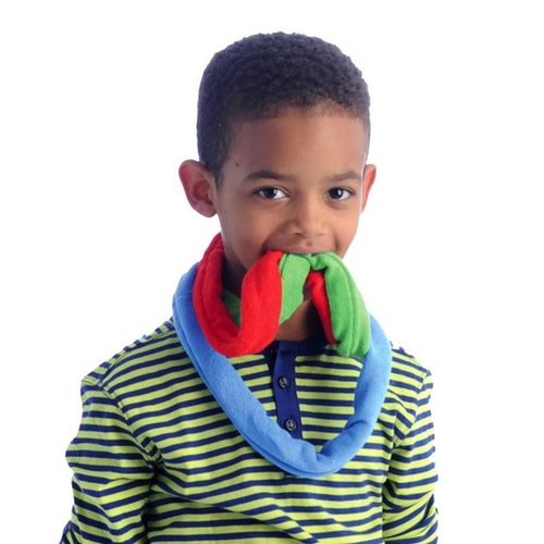 Chews & Chewlry 6-Pack Terry Cloth Sensory Bite Bands