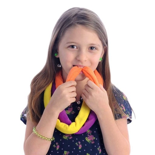 Chews & Chewlry Terry Cloth Sensory Bite Bands (6-Pack)