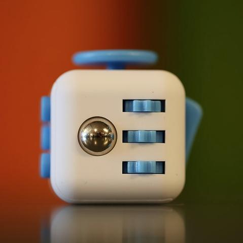 Classroom Aid Fidgety Block - CRAZY Addicting, Fidget Toy for Ages 5-105!