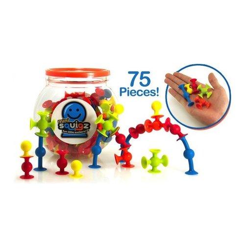 Toys & Games Mini Squigz 75 PC Building Kit & Travel Set