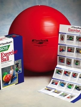 """Therapy Equipment Thera-band Pro Series SCP 22"""" (55cm) Excercise Ball"""