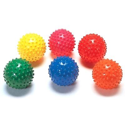 SENSORY Jumbo Easy Grip Balls (6 Pcs)
