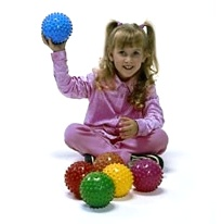SENSORY Jumbo Easy Grip Balls (6 Pcs)