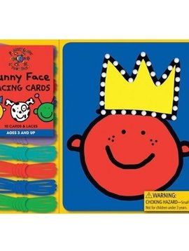 Books Funny Face Lacing Cards by Todd Parr