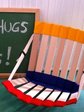 Therapy Equipment BACK TO SCHOOL! HowdaHUG1 Adjustable Chair (Ages 7+)