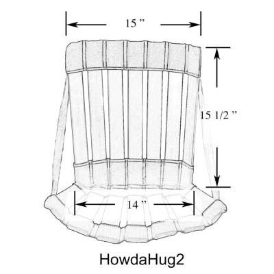 Therapy Equipment HowdaHUG2 Adjustable Chair (Ages 5+)