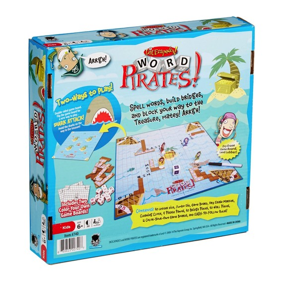 Toys & Games Word Pirates Game NEW VERSION!