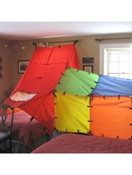 Toys & Games Fortamajig Connectables Multi-Color Play Fort Panels