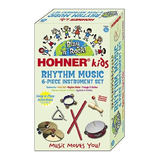 Sound & Lights Marching Band Musical Instrument 6 Piece Set by Hohner