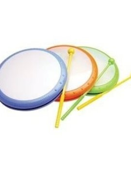 Sound & Lights Kids Hand Drum With Mallet