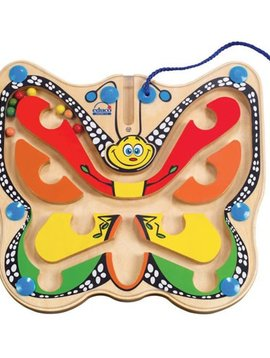 Toys & Games Hape Color Flutter Butterfly Magnetic Maze