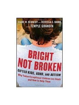 Books Bright Not Broken: Gifted Kids, ADHD and Autism.