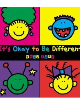 Books It's Okay to Be Differentby Todd Parr