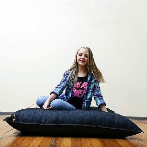 Special Order JAXX 5.5' Black Denim Pillow Saxx Multi-Position Pillow & Crash Pad *FREE SHIPPING!