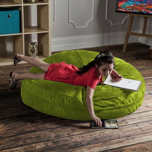 Special Order JAXX Kids 4ft Microsuede Multi-Functional Cocoon Chair & Crash Pad for Kids, Teens, or Adults. *FREE SHIPPING!