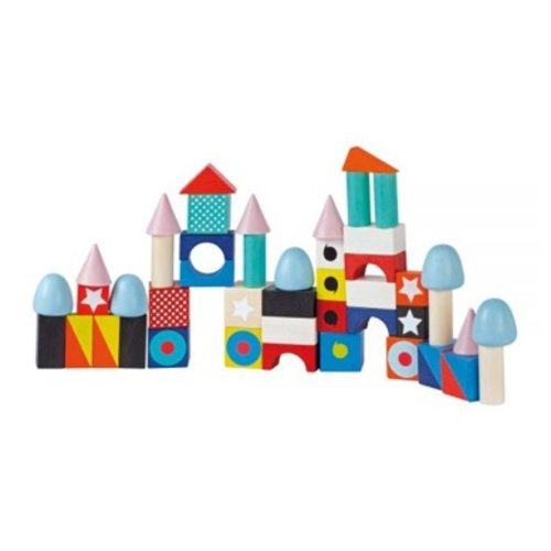 Toys & Games Janod Kubix 50 Maxi Blocks