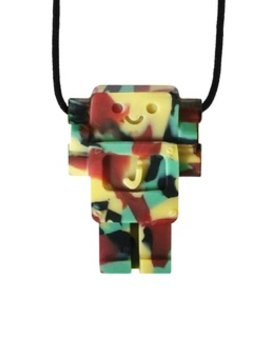 Chews & Chewlry Jellystone Chewelry Junior Robot Soft-Bite Pendant