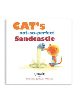 Books Kimochis Cat's Not So Perfect Sandcastle Book