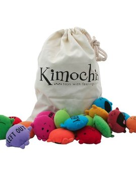 Toys & Games Kimochis 33 Mixed Bag of Feelings in a Canvas Pouch