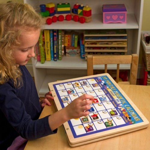 Toys & Games Melissa & Doug My Monthly Magnetic Calendar