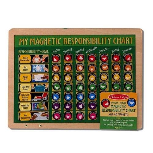 Toys & Games Melissa & Doug Magnetic Responsibility Chart