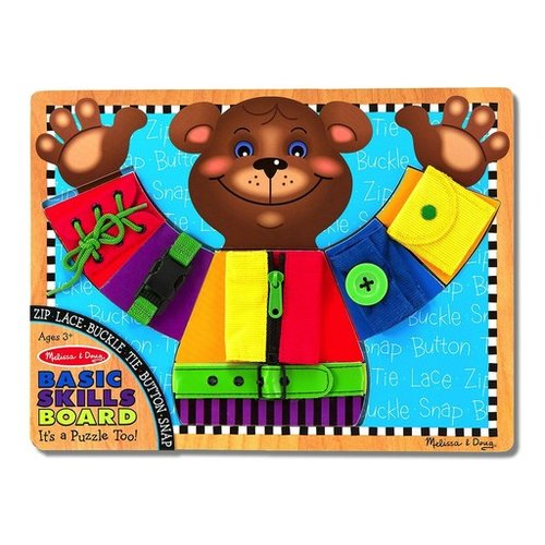 Toys & Games Melissa & Doug Basic Skills Board