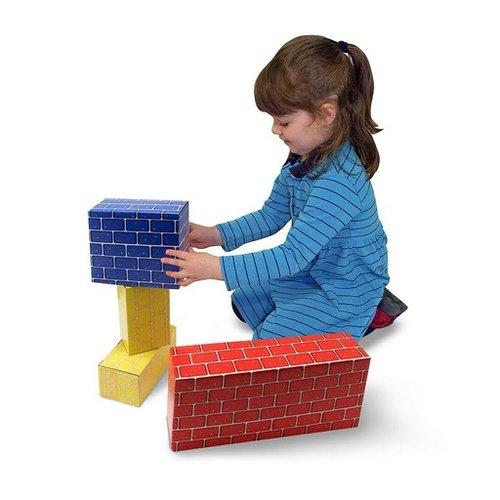 Toys & Games Melissa & Doug Deluxe Jumbo Cardboard Blocks (40 pc)