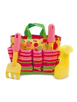 Toys & Games Melissa & Doug Blossom Bright Kids' Gardening Tote Set