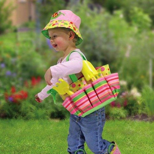 Toys & Games Melissa & Doug Blossom Bright Kids' Gardening Tote Set