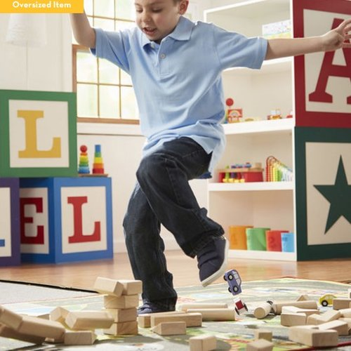Toys & Games Melissa & Doug Standard Unit Blocks (60 PC Set)
