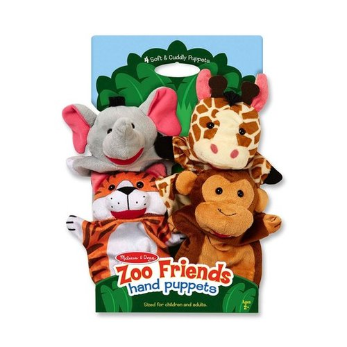 Toys & Games Melissa & Doug Hand Puppets - Set of 4