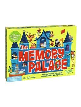 Toys & Games Peaceable Kingdom The Memory Palace Cooperative Game for Kids