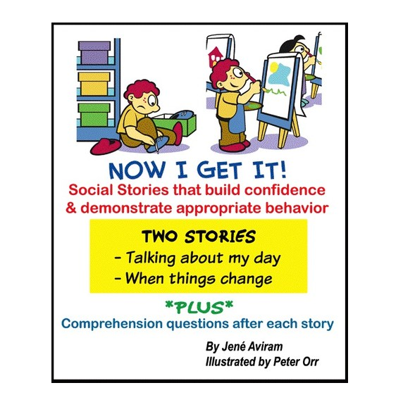 Books Now I get it! - Social Story Books (1 Book)