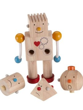 Toys & Games PlanToys Preschool Build-a-Robot