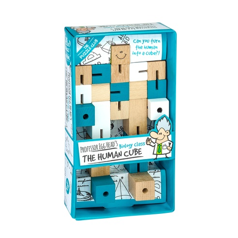 Toys & Games Professors Egg Head's Human Cube Puzzle & Fidget