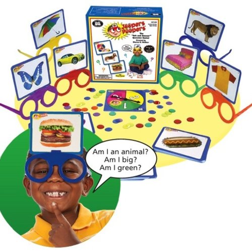 "Toys & Games AWARD WINNING! Jeepers Peepers ""Ask and Answer"" Game"
