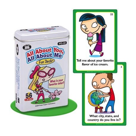 Therapy Equipment Super Duper® All About You and Me Fun Deck®