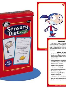 Therapy Equipment Super Duper® Sensory Diet Cards
