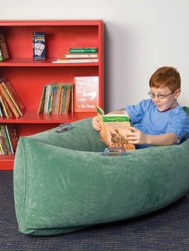 """Special Order The Original Inflatable Calming Peapod Cocoon—Medium (60"""" Green)"""