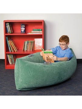 "Special Order The Original Inflatable Calming Peapod Cocoon—Medium (60"" Green)"