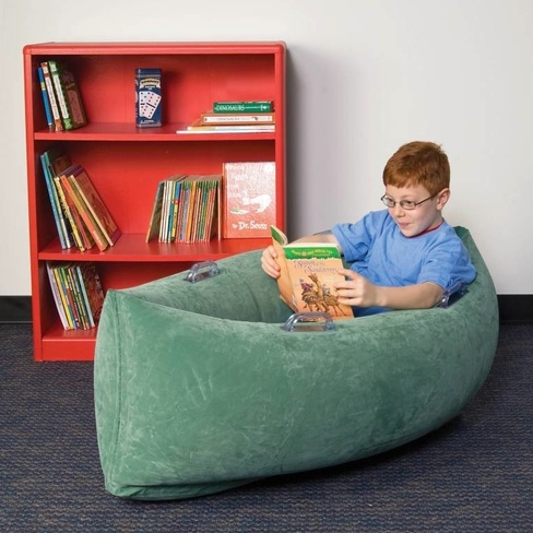 "Special Order Inflatable Calming Peapod Cocoon - Medium (60"" Green ) *FREE SHIPPING"