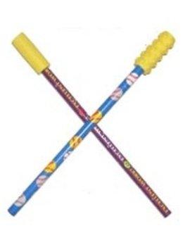 Chews & Chewlry Chew Stixx Pencil Toppers (1PR)-Smooth & Textured