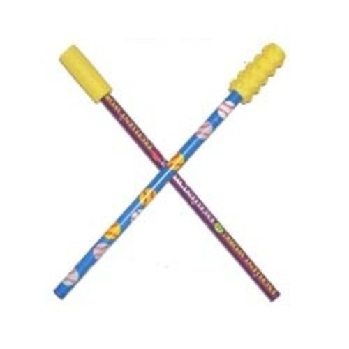 Chews & Chewlry Chew Stixx Pencil Toppers (1PR)-Smooth & Textured