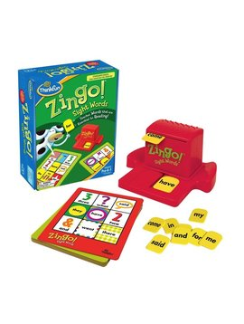 Toys & Games Zingo! Teach Essential Reading Words with Zing