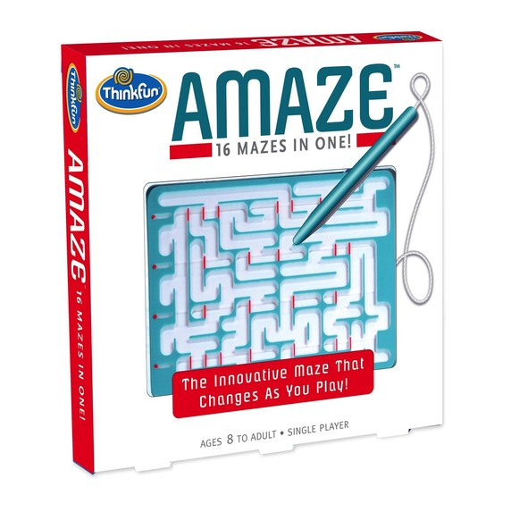 Toys & Games ThinkFun Amaze: The Innovative Puzzle that Changes As You Play!