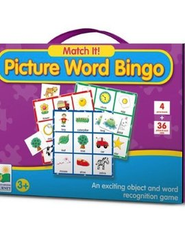 Toys & Games Match it! Picture Word Bingo