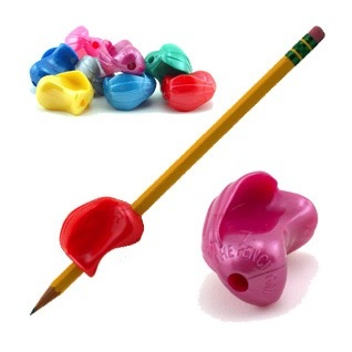 Classroom Aid The Crossover Grip Pencil Grip - Metallic (6 Pack)